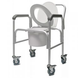 2215B-2 3-in-1 Aluminum Commode