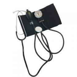 242 Home Blood Pressure Kit with Attached Stethoscope