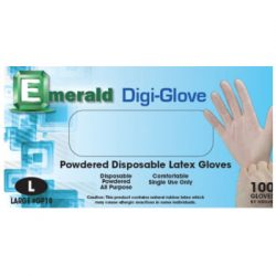 Digi-Glove Powdered Latex Gloves