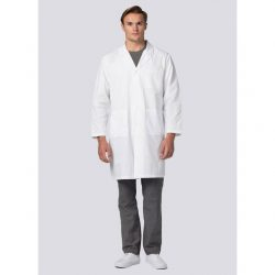 "808 39"" Unisex Midriff Lab Coat"