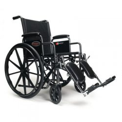 3H020100 Advantage LX Manual Folding Wheelchairs