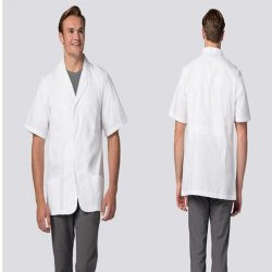 2816 Unisex Short Sleeve Consultation Coat