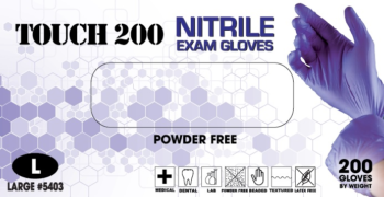 Emerald Touch 200 Nitrile Exam Gloves
