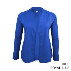 5200 Women's Soft Stretch Front Zip Warm-Up Scrub Jacket