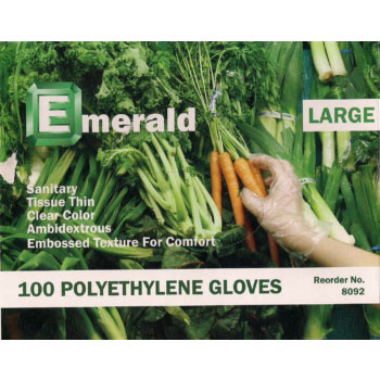 Disposable Polyethylene Gloves – Boxed and Bagged