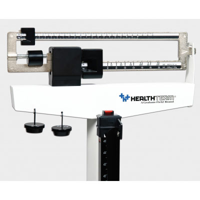 HT485 Physician Mechanical Beam Scale with Wheels