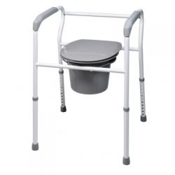 7103 Lumex Platinum Collection 3-in-1 Steel Commode