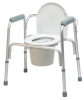 Lumex 3-in-1 Aluminum Commode with Removable Back Bar
