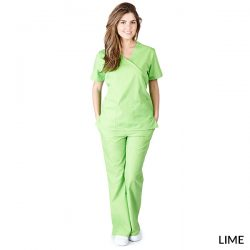 MM001 Mock Wrap Scrub Sets