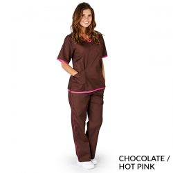 SH505Contrast Trim Scrub Sets