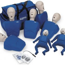 CPR Manikins Pack of 7 with Zipper Bag