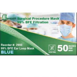 99% BFE Filtration Surgical Procedure Masks
