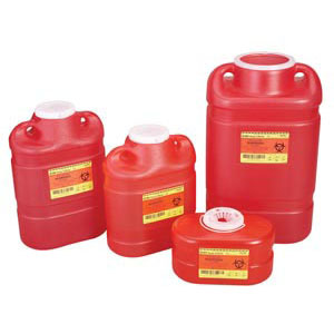 305491 B-D Multi-Use Sharps Container