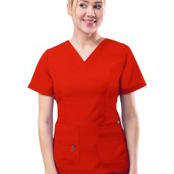 ADAR Pro Womens Elevated V-neck Scrub Top