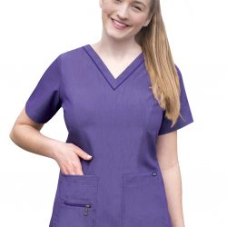 ADAR Pro Women's Elevated V-neck Scrub Top