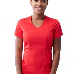 ADAR Pro Women's Modern V-Neck Scrub Top