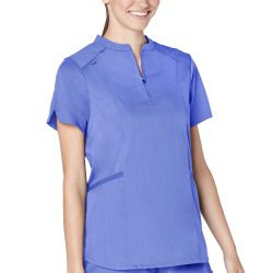 ADAR Resoponsive Women's Active Stand Collar Top