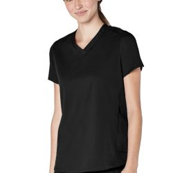 ADAR Resoponsive Women's Active Modern V-Neck Top