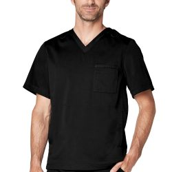ADAR Resoponsive Men's Active V-Neck Top